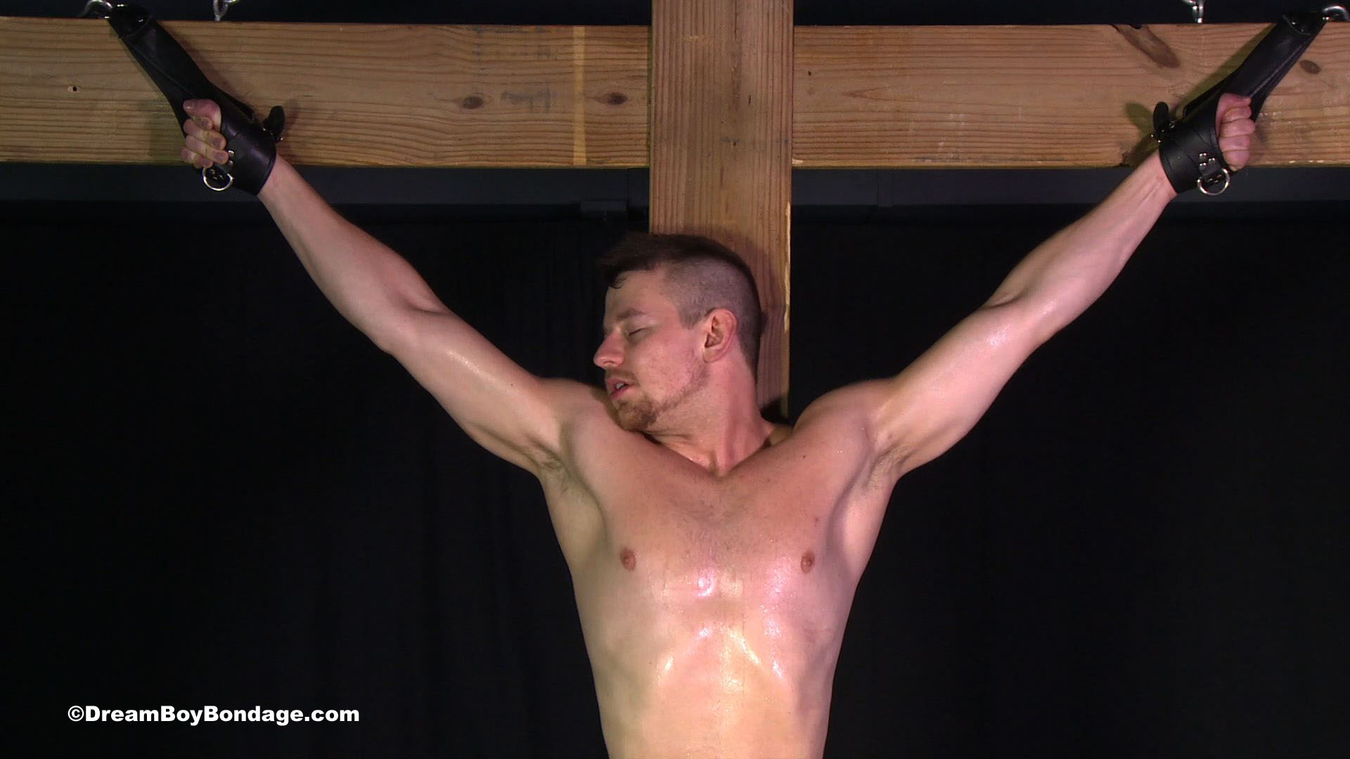 Male crucifixion bdsm
